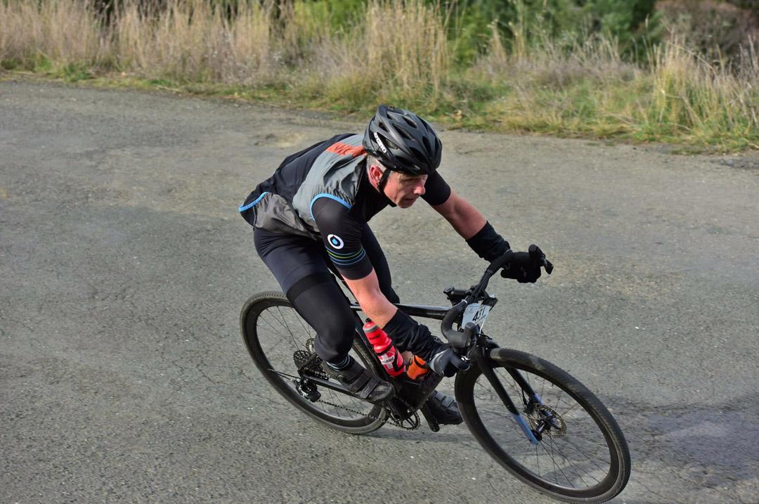 Dave Townsend biking